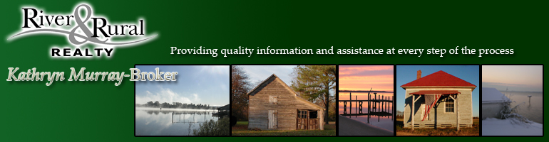 River & Rural Realty--Find Virginia Waterfront property on the Northern Neck