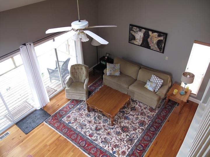 A different angle of living room